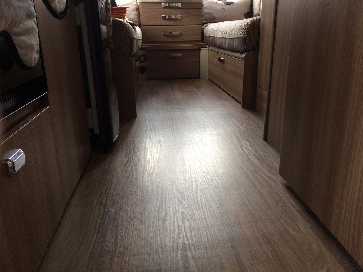 Caravan Floor Delamination