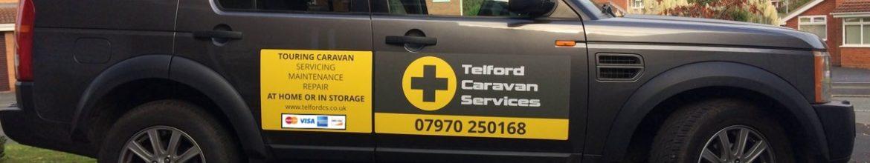 New Telford Caravan Services website