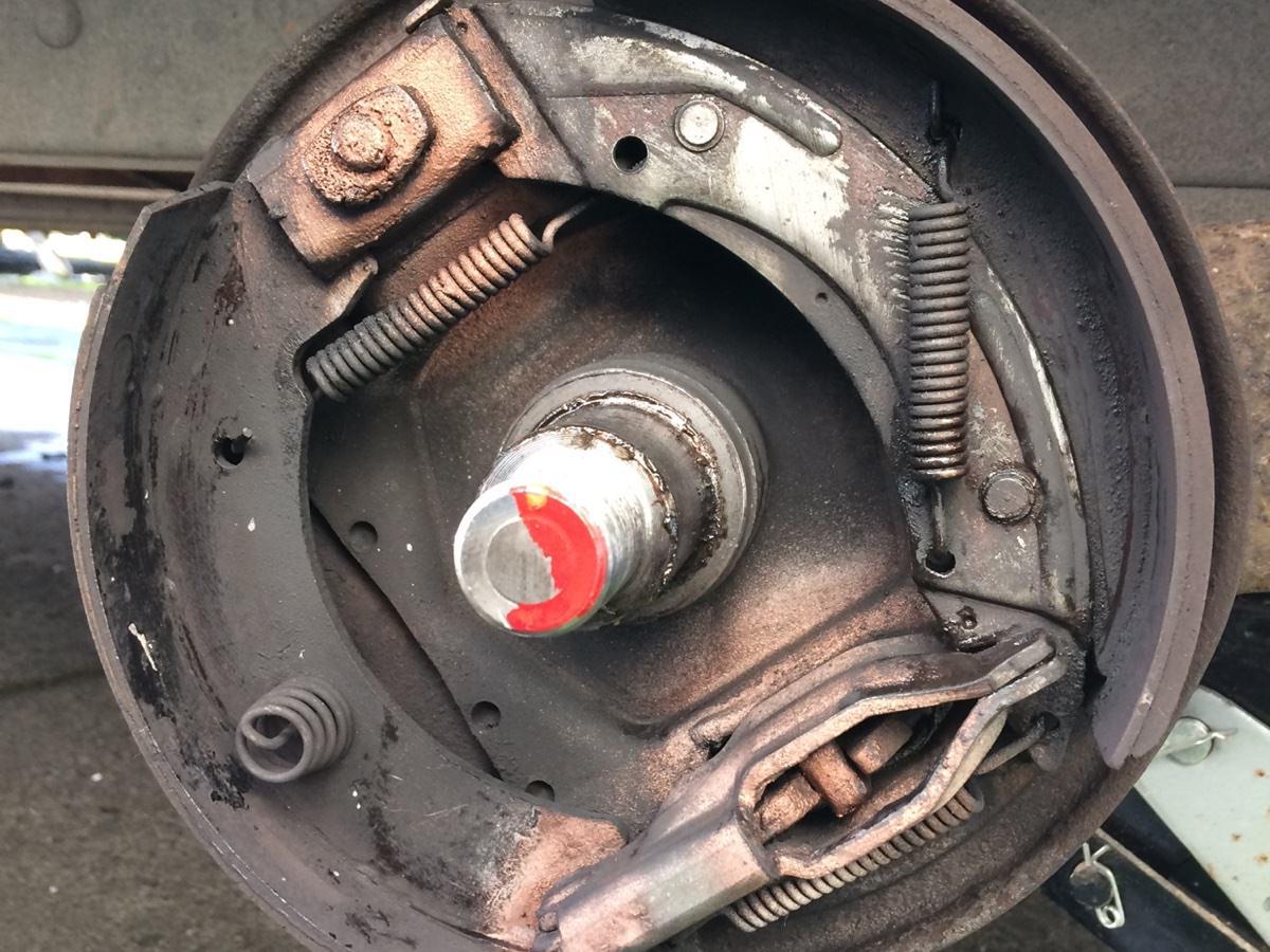 Caravan Tyre Brake Chassis Service