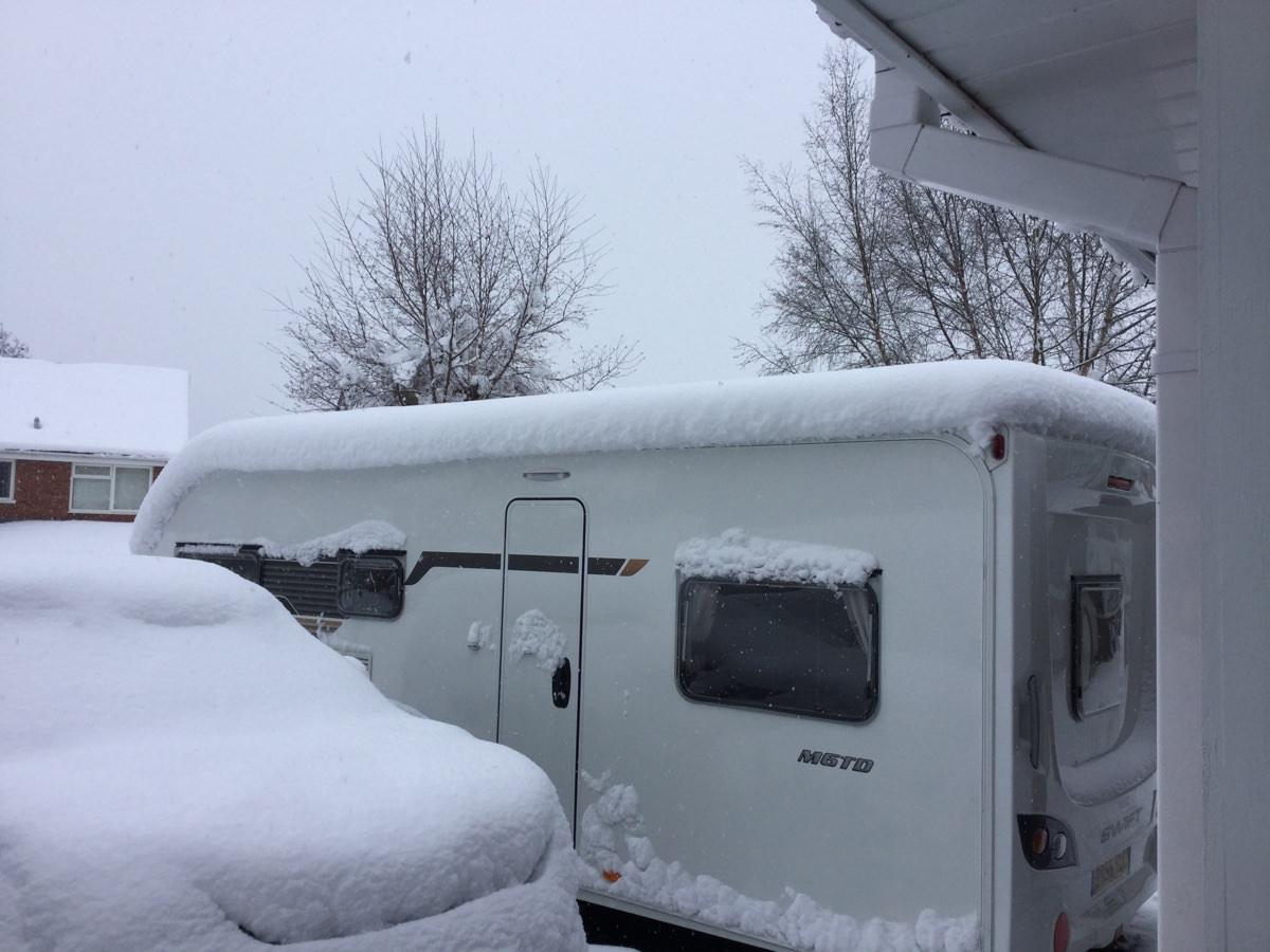 Caravan Winterisation